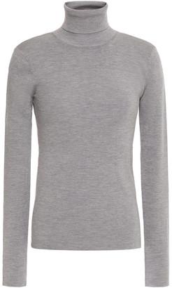 Joseph Melange Silk-blend Turtleneck Sweater