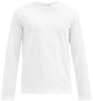 Comme des Garçons Shirt Logo-print Cotton-jersey T-shirt - White