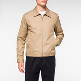 Paul Smith Men's Sand Lightweight-Cotton Jacket