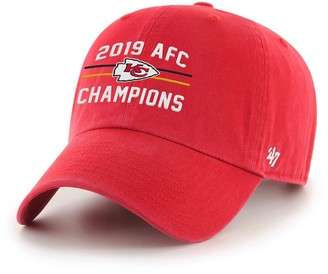 '47 Adult Kansas City Chiefs 2019 AFC Champions Adjustable Hat