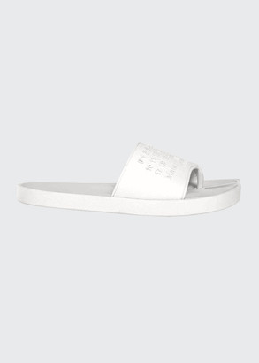 Maison Margiela Tabi Logo Thong Pool Slide Sandals
