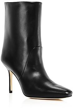 Stuart Weitzman Women's Ebb Square-Toe High-Heel Boots