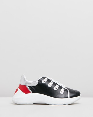 Love Moschino D-Ring Chunky Sole Sneakers