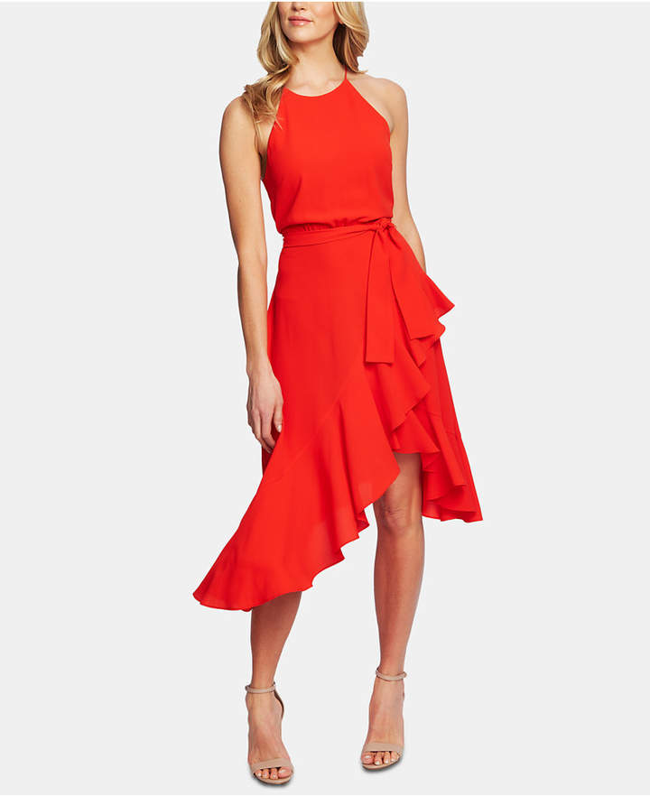 5af4f888735c Dress With Cascading Ruffles - ShopStyle
