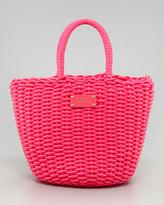 Kate Spade Beach Club Beth Basket Tote Bag, Pink