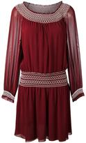 Tory Burch smock detail dress