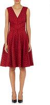 J. Mendel Women's Lace Full-Skirt Cocktail Dress-RED