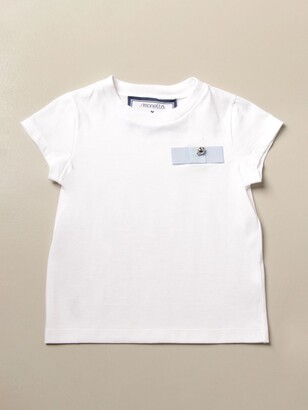 Simonetta Cotton T-shirt With Bow