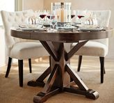 Pottery Barn Benchwright Extending Pedestal Dining Table