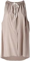 Agnona sleeveless top - women - Silk/Spandex/Elastane - 38