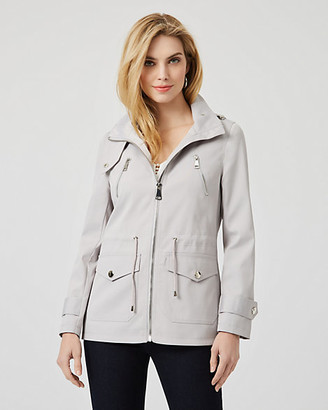 Le Château Viscose Blend Hooded Anorak Jacket