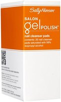 Sally Hansen Salon Pro Gel Cleanser, 20 Count