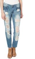 Dollhouse Williamsburg Distressed Boyfriend Jeans - Plus