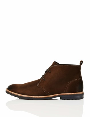 Find. Amazon Brand Mens Chukka Boots in Round Toe Lace Ups