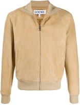 Loewe Leather Bomber Jacket
