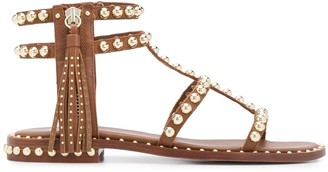 Ash Stud Embellished Gladiator Sandals