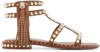Ash Stud Embellished Gladiator Sandals