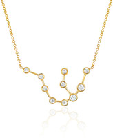 Logan Hollowell - New! Aquarius Diamond Constellation Necklace