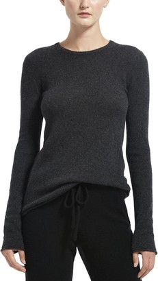 Atm Charcoal Cashmere Crew Neck Sweater