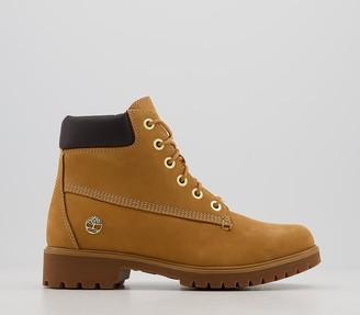 Timberland Slim Premium 6 Inch Boots Wheat Nubuck