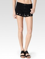 Paige Keira Short - Vintage Black Grommets