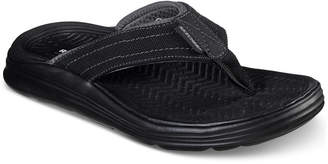 Skechers Men Relaxed Fit Sargo Wolters Thong Sandals from Finish Line