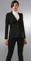 Two Button Fitted Blazer