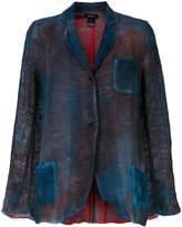 Avant Toi faded pocket blazer