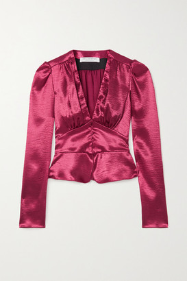 Philosophy di Lorenzo Serafini Hammered-satin Blouse