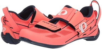 Pearl Izumi Tri Fly Select V6 (Navy/Fiery Coral) Women's Cycling Shoes