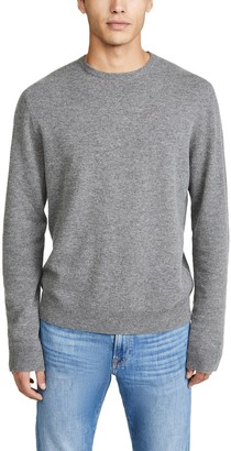 Frame Long Sleeve Crew Neck Sweater