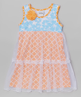 Flap Happy Vintage Trellis Savannah Dress - Infant & Toddler