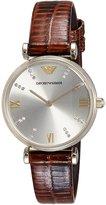 Emporio Armani Women's Classic AR1883 Leather Quartz Watch