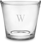 Williams-Sonoma Monogrammed Glass Ice Bucket