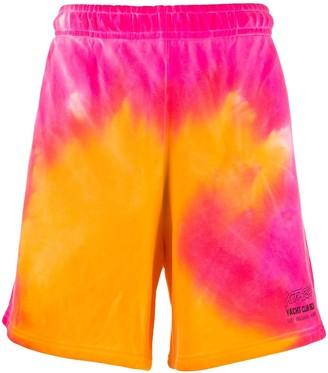 Misbhv Tie-Dye Logo Track Shorts