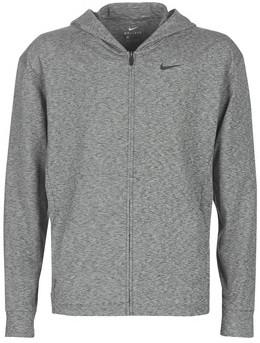 Nike M NK DRY HOODIE FZ HPRDRY LT men's Sweatshirt in Grey