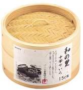 Parukinzoku Sato Chinese bamboo steamer 15cm H-5712 of Pearl sum (Japan import / The package and the manual are written in Japanese)