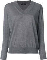 Roberto Collina V-neck jumper - women - Wool - XS