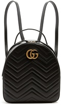 Gucci GG Marmont quilted-leather backpack
