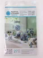 Martha Stewart Crafts Paintable Clings 27 Modern Blossoms Flower Designs