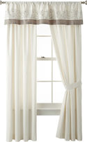 Liz Claiborne Bianca Border 2-Pack Curtain Panels