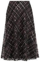Ralph Lauren Angelica Beaded Tulle Skirt Black 4