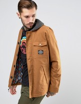 Poler Mole Jacket With Fleece Collar