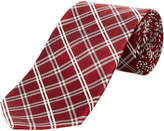 Brooks Brothers Red Plaid Silk-Blend Tie