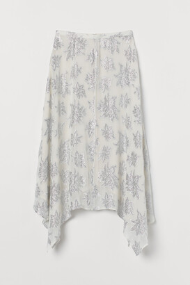 H&M Jacquard-patterned skirt