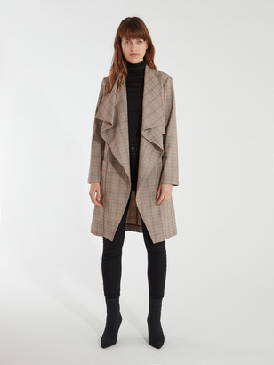 Cupcakes And Cashmere Berlin Drape Front Trench Coat