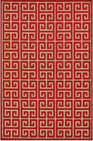 Feizy Rugs Greek Key Indoor/Outdoor Rectangular Rug