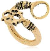 Alcozer & J Key Shaped Adjustable Ring