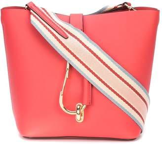 Zac Posen Belay Hobo w/ Striped Web Strap bag