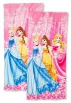 Disney Princesses Beach Towel 2-Pack